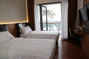 Rekomendasi Hotel Are You And I memiliki suasana yang tenang dan nyaman