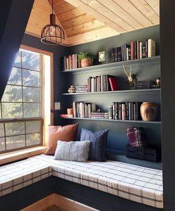 Ruang Baca Sebagai Area Tenang di Rumah Lifetime Design 2