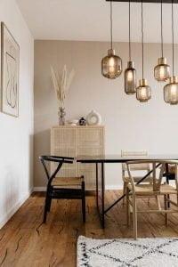 Gradasi warna dalam interior ruangan mampu memberi kesan nyaman.