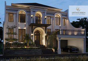 Rumah klasik memiliki material dan tampilan yang mewah